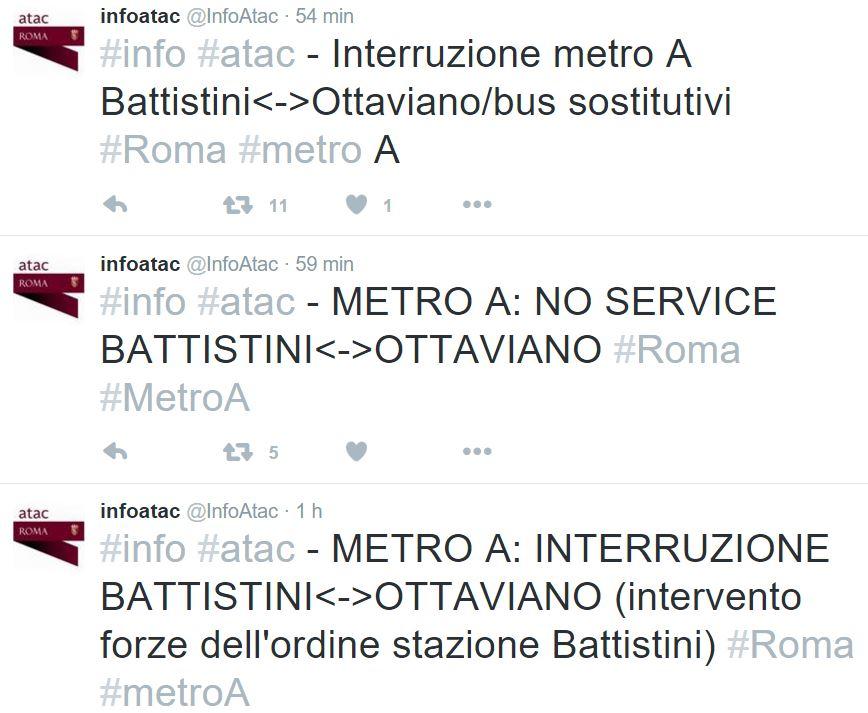metro ottaviano battistini