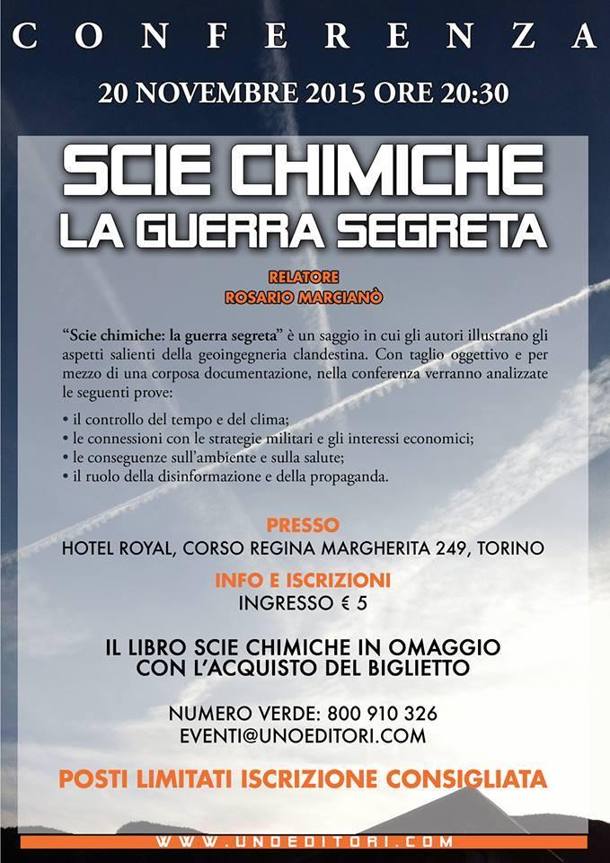 rosario marcianò conferenza scie chimiche - 2