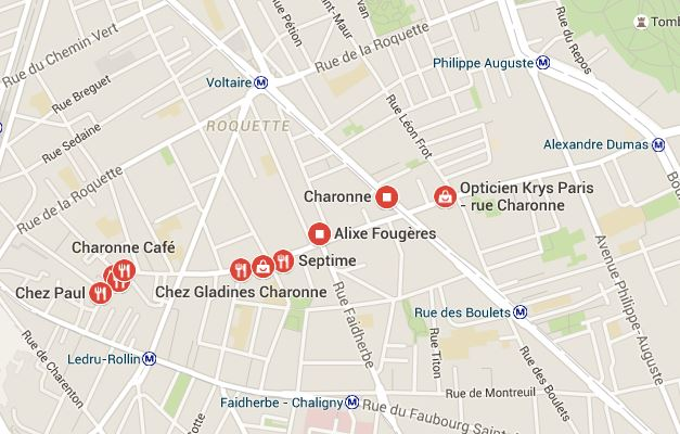 rue charonne