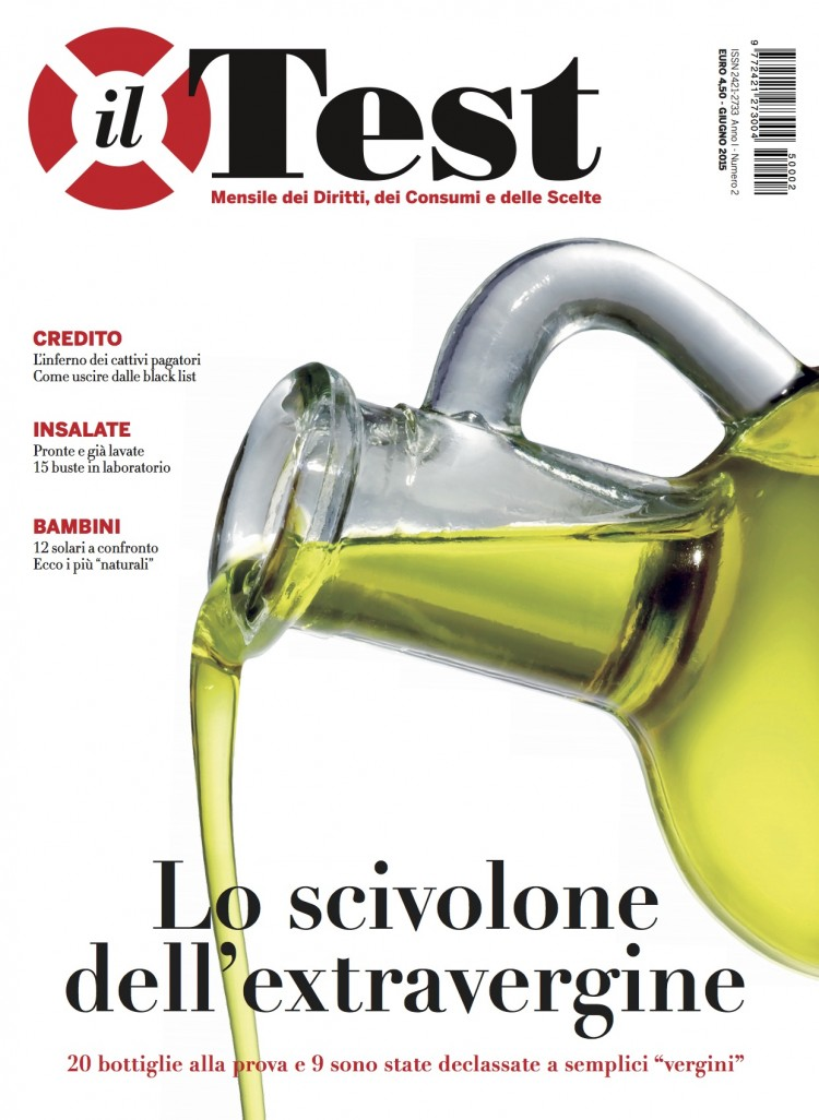 scandalo olio d'oliva extravergine truffa