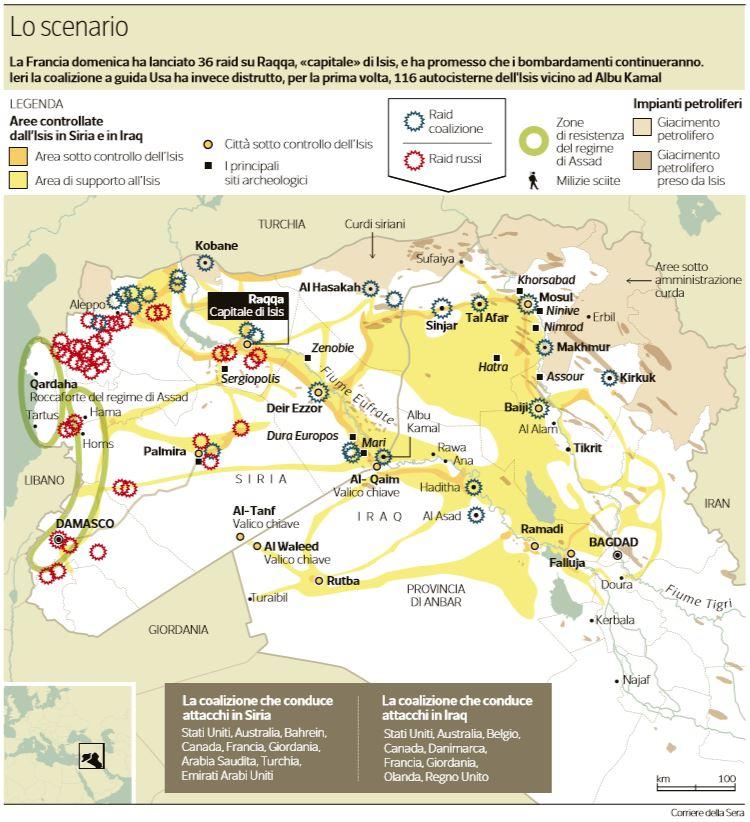 scenario guerra iraq siria
