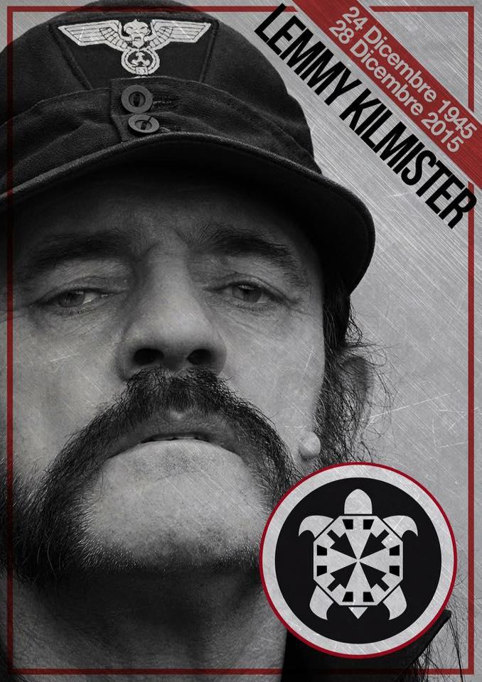 CasaPound Lemmy Kilmister - 1