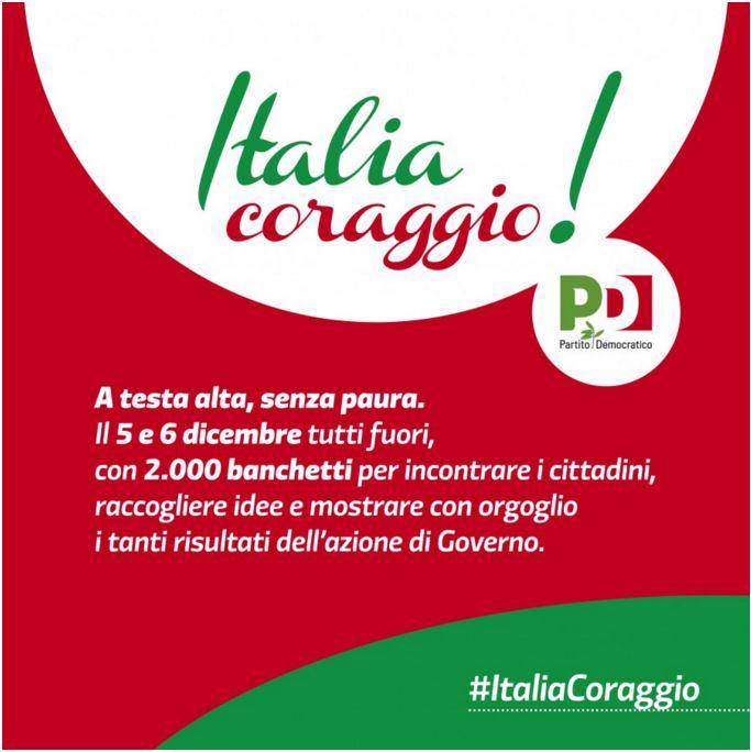 ettore rosato italia coraggio banchetti pd flop - 1