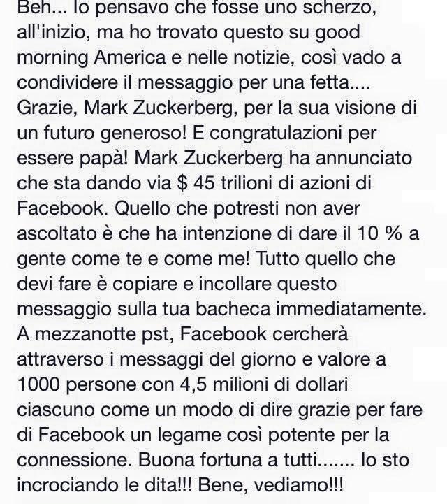 facebook zuckerberg bufala soldi azioni - 2