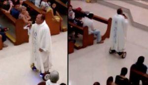 holy roller prete hoverboard filippine messa - 1