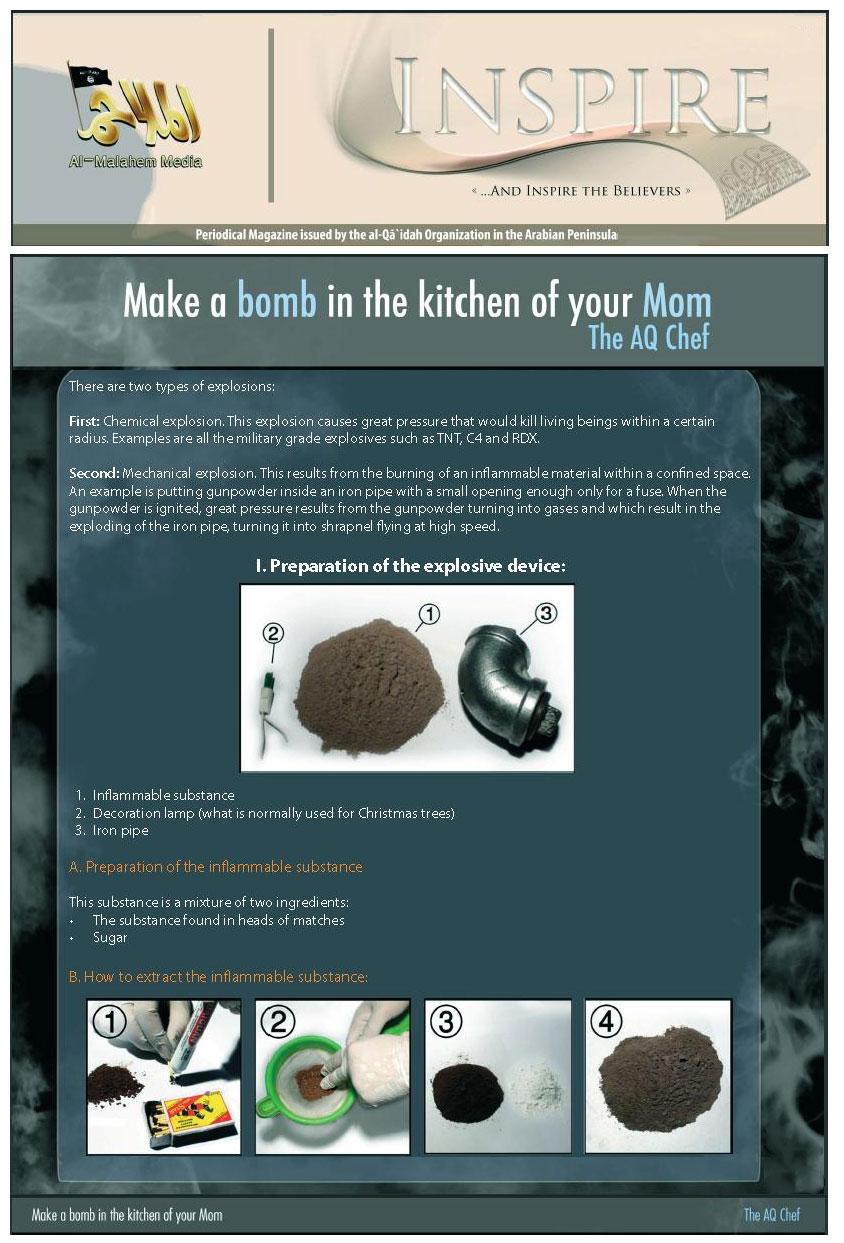 inspire come fare bomba cucina