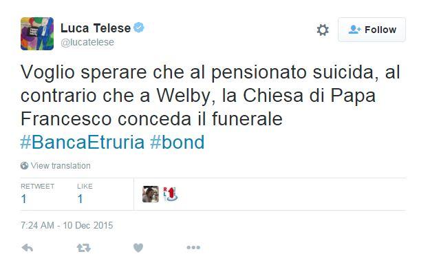 pensionato suicida banca etruria luca telese - 1
