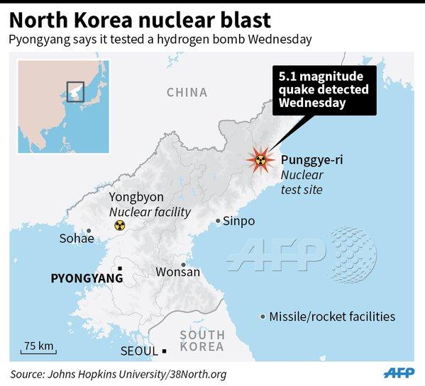 corea nord bomba nucleare 1