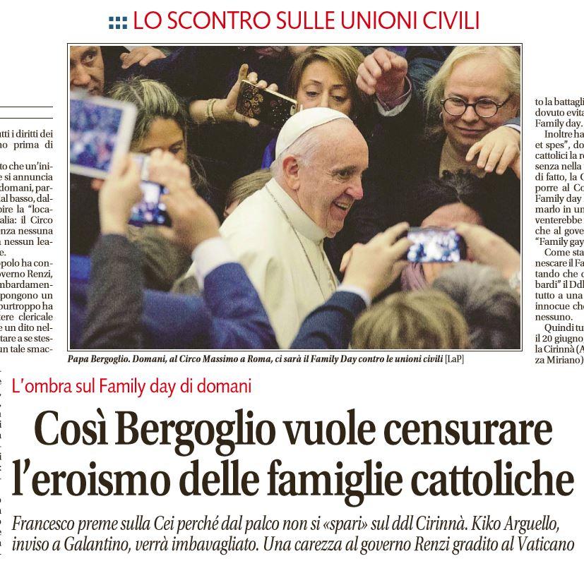 family day papa vaticano
