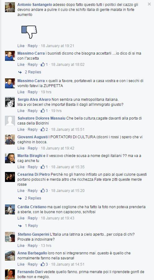 gentismo e merda facebook immigrati - 10