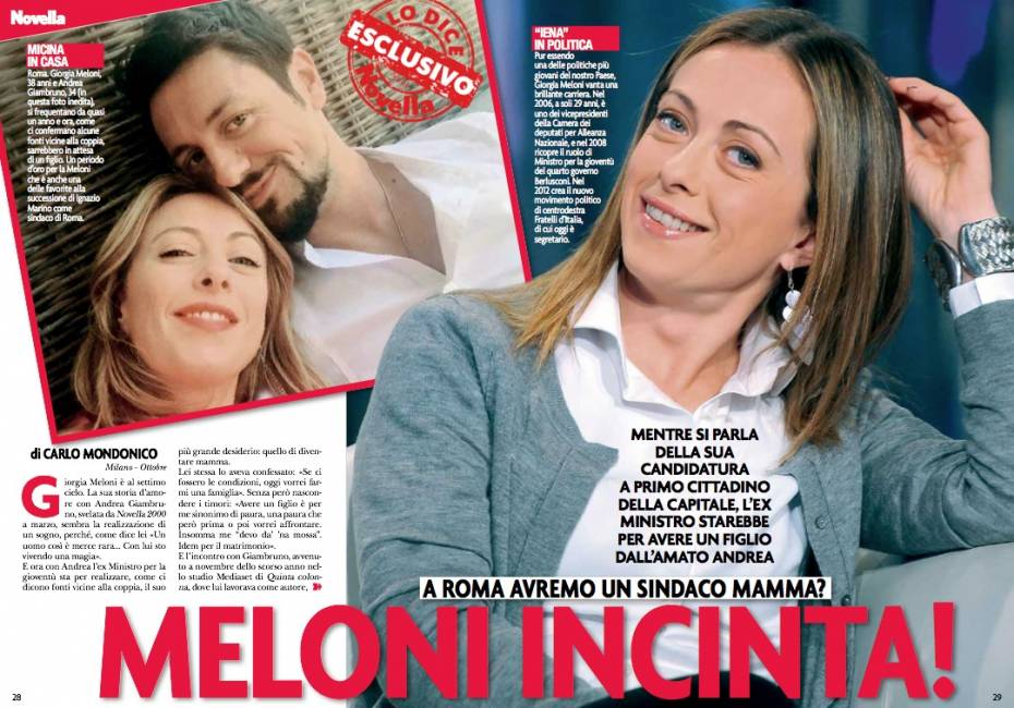 Giorgia Meloni al Family Day: