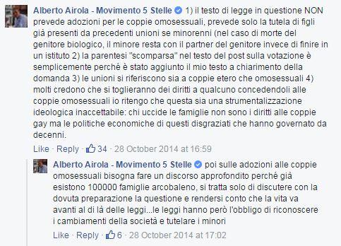 paolo palleschi family day m5s espulsione cirinnà - 2