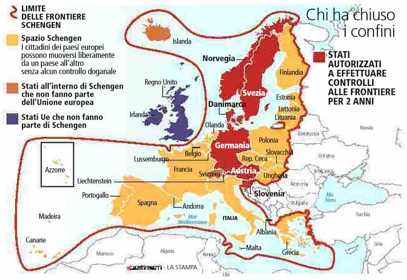 schengen europa