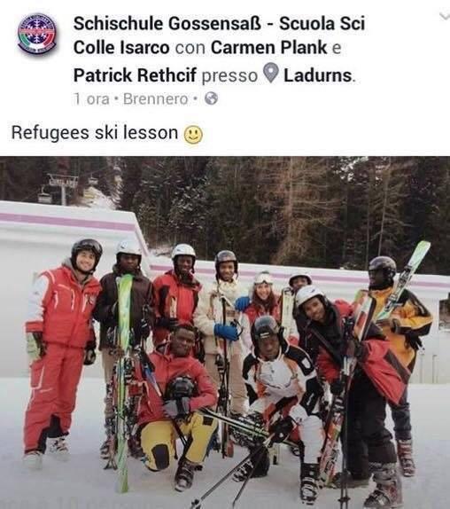 scuola sci colle isarco lezioni migranti - 3