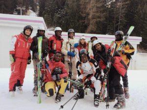 scuola sci colle isarco lezioni migranti - 4