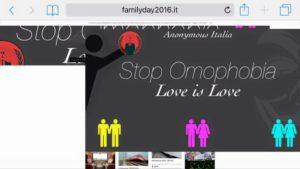 sito family day hackerato