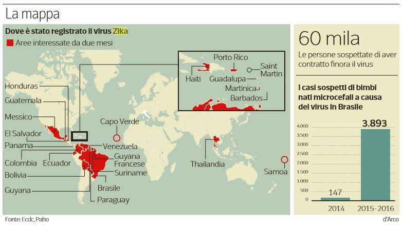 virus zika italia