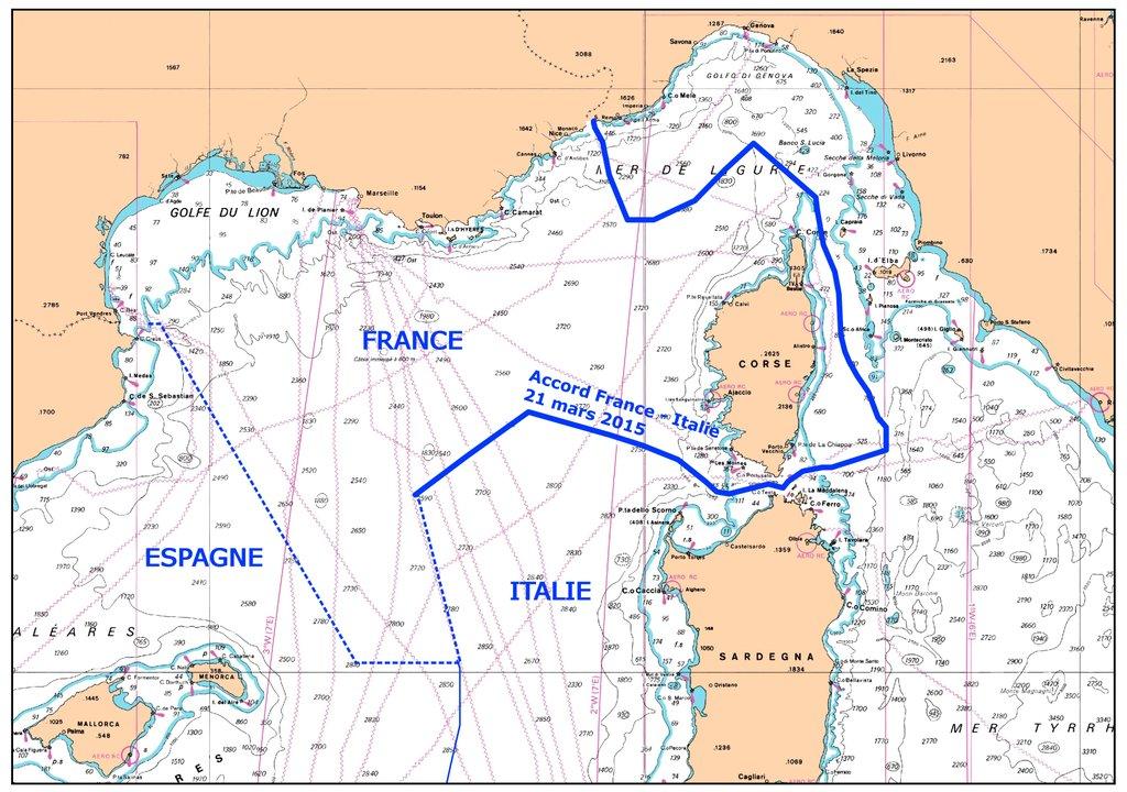 accordo italia francia mare sardegna