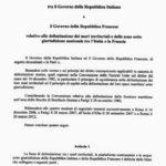 accordo sardegna italia francia 1