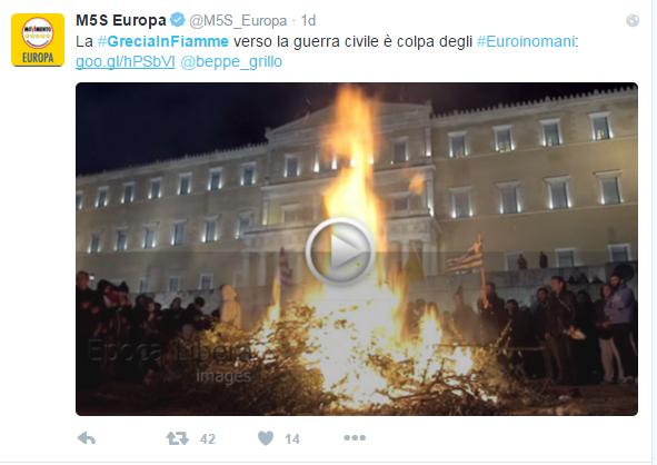 beppe grillo guerra civile in grecia - 2