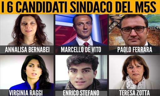 candidati sindaco movimento 5 stelle roma 1