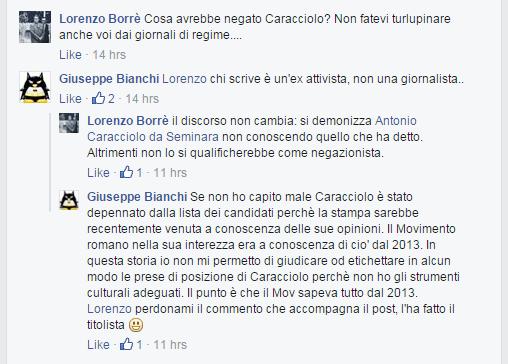 comunarie roma 2016 candidati roberta lombardi - 1