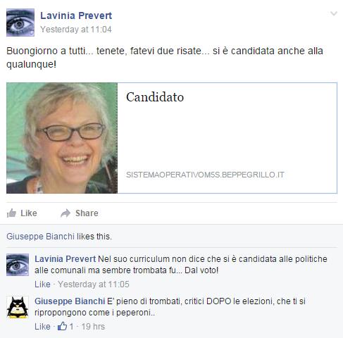 comunarie roma 2016 candidati roberta lombardi - 4