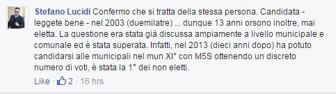 comunarie roma 2016 candidati roberta lombardi - 8