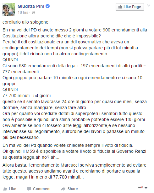 crimi di battista cirinnà unioni civili - 6