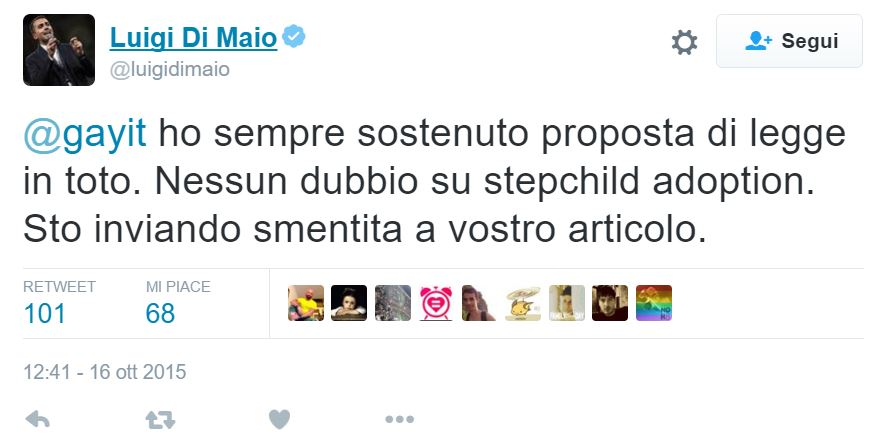 luigi di maio stepchild adoption