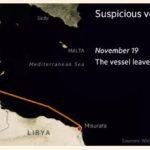 nave sospetta pozzallo windward libia - 2