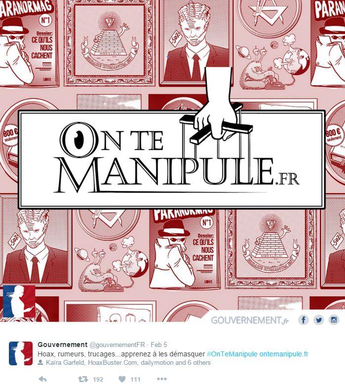 ontemanipule governo francese debunking - 1