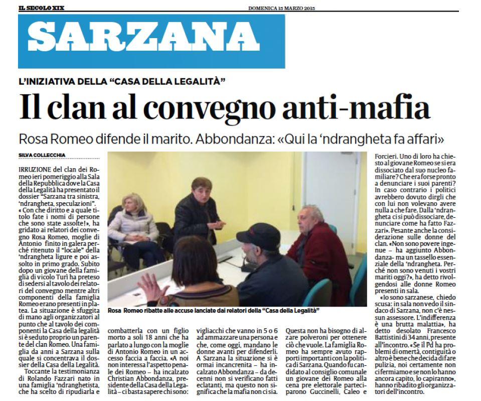 sarzana romeo christian faenza 'ndrangheta - 1