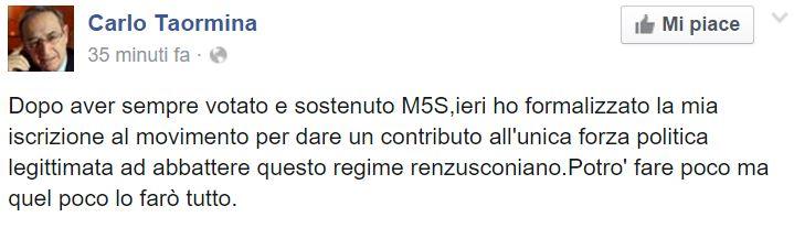 carlo taormina m5s