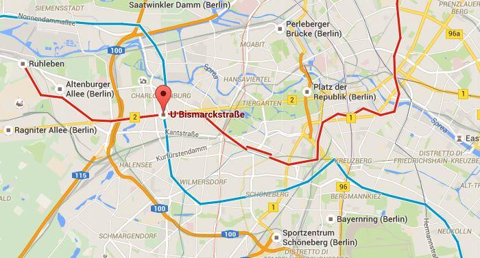 charlottenburg bismarkstrasse berlino