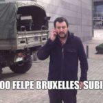 matteo salvini attentati bruxelles meme - 4