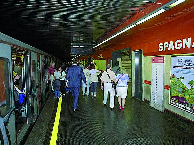 metro a spagna
