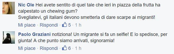 migrante selfie porno 1