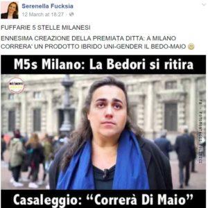 patrizia bedori complotti m5s 1