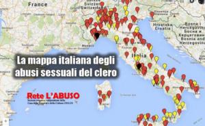 rete l'abuso diocesi non sicure mappa preti pedofili -1