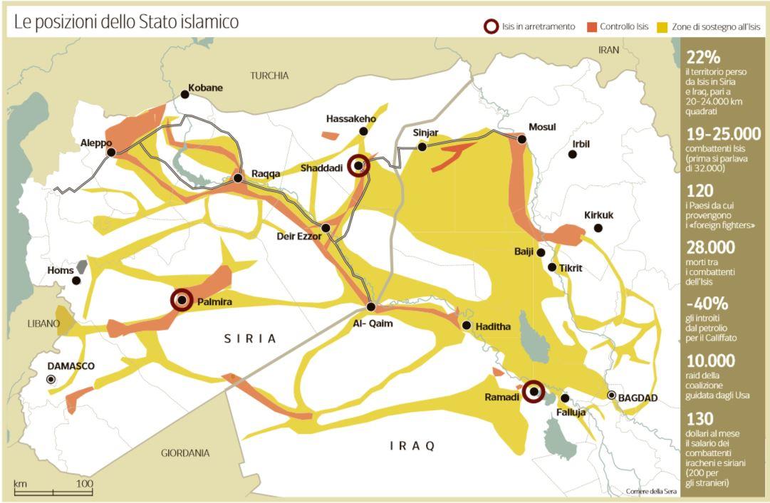 stato islamico siria iraq
