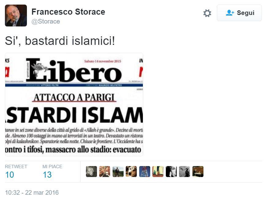 storace bastardi islamici