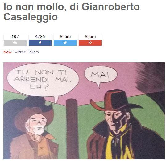 CASALEGGIO MORTO