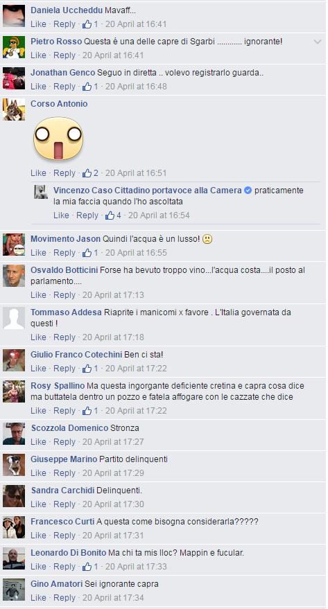 danilo toninelli cristina bargero insulti - 3