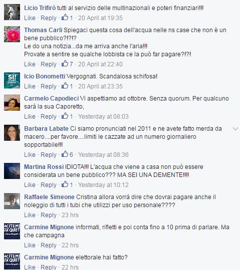 danilo toninelli cristina bargero insulti - 4