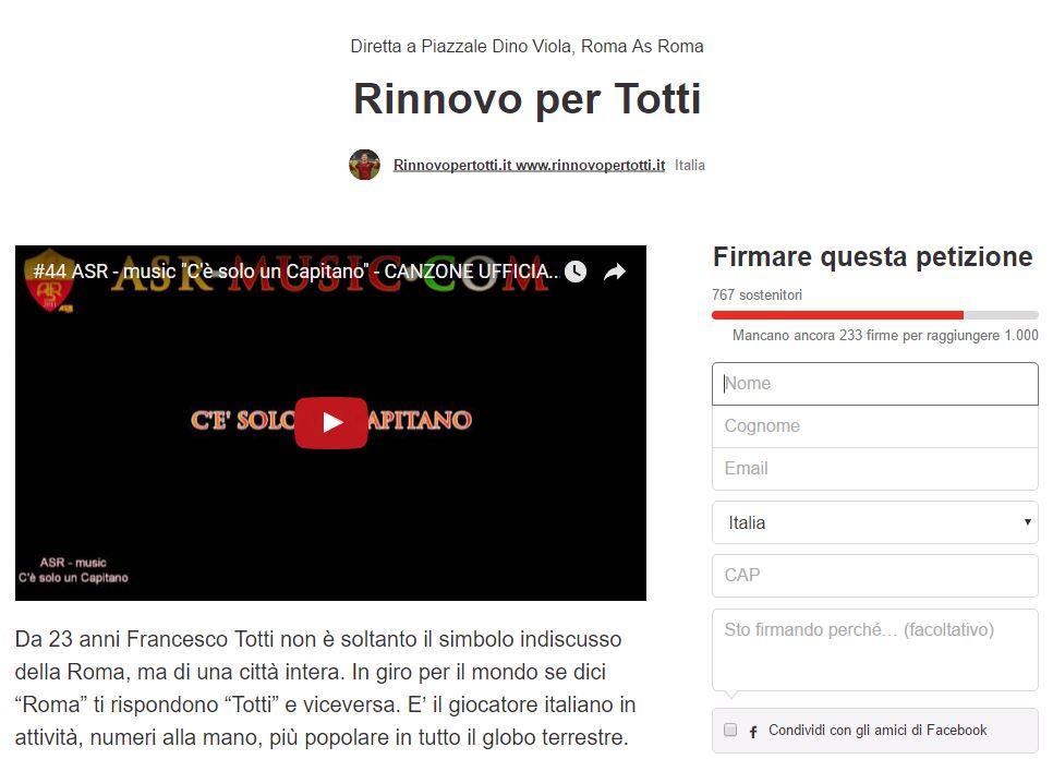 rinnovopertotti.it petizione change org