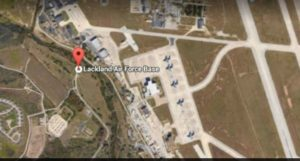 san antonio Lackland Air sparatoria