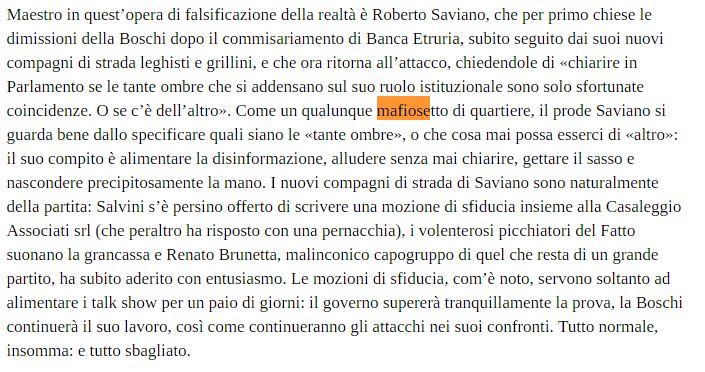 saviano mafiosetto