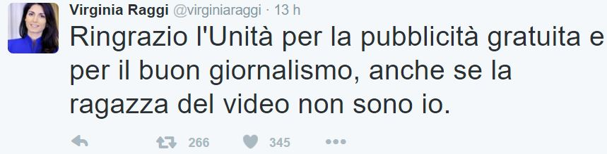 virginia raggi coro berlusconi 2