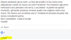 account piratati facebook - 3